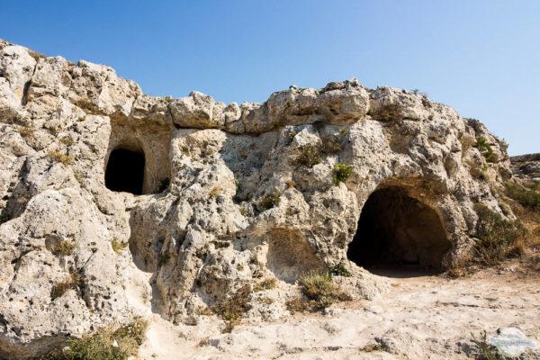 Höhlen in der Provinz Matera