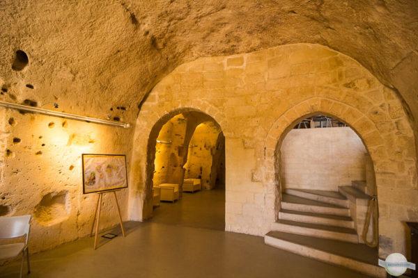 Casa Cava renovierte Höhlensiedlung in Matera