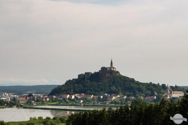 Güssing Blick auf die Burg