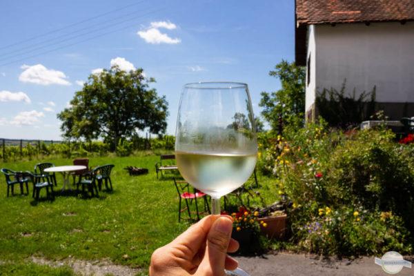 Ein Gläschen Wein im Burgenland