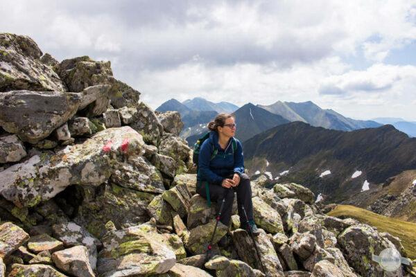 Pause am Berg