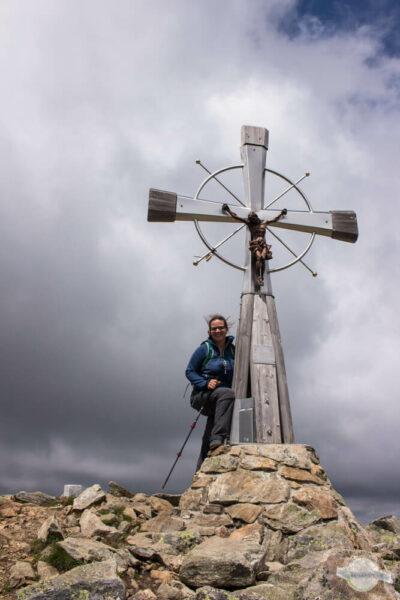 Wind am Gipfelkreuz Deneck
