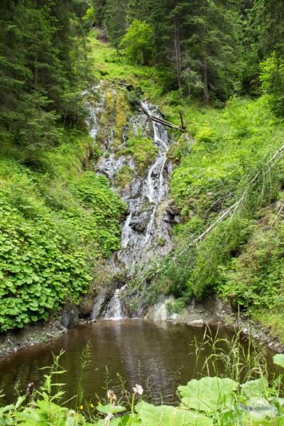 Wasserfall im Naturpark Sölktäler