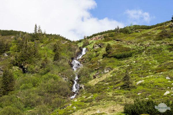 Wasserfall Kaltenbachseen