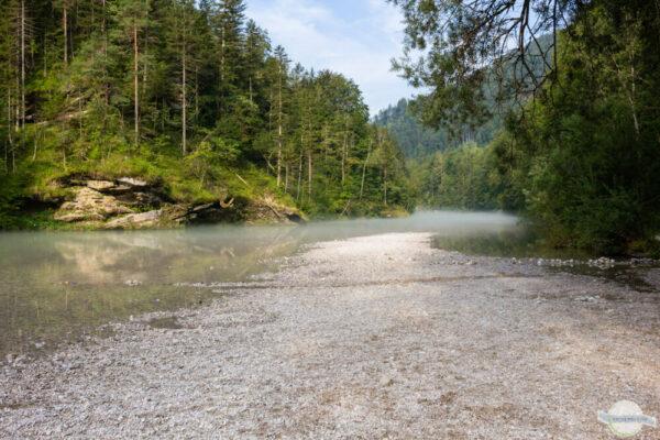 Salza Flussbad - Baden im Gesäuse