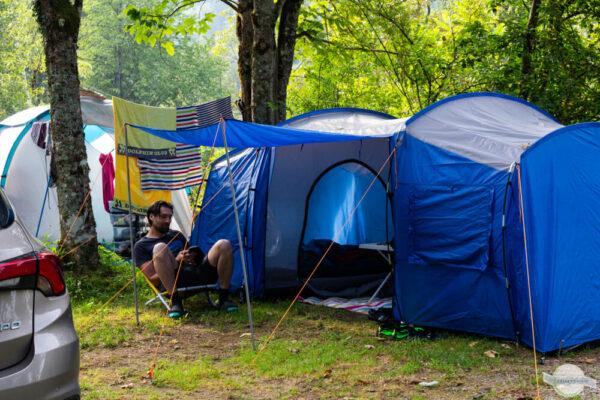 Campen im Gesäuse