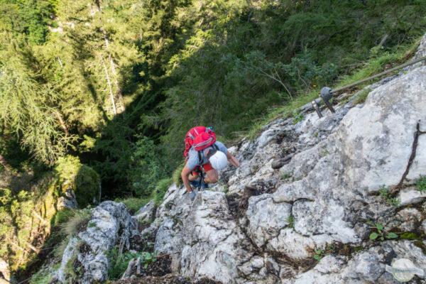 Klettersteig Silberreith Johnsbach
