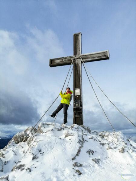 Winterwandern am Hochlantsch
