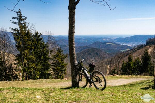 Mountainbiken im Grazer Bergland
