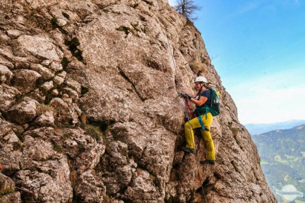 Klettersteig am Hochlantsch