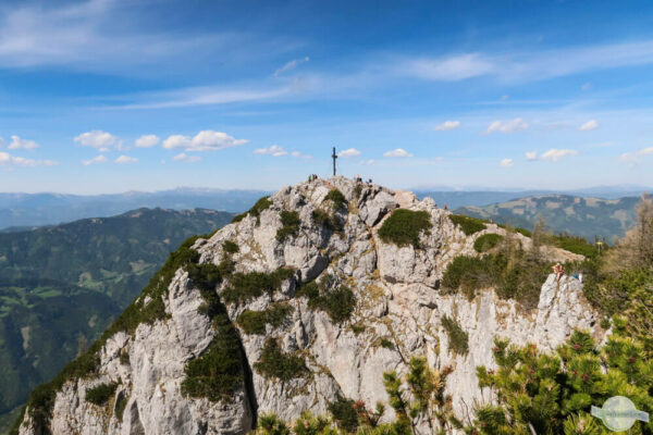 Das Grazer Bergland mit seinen Gipfeln