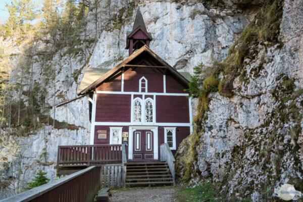 Die Wallfahrtskirche Schüsserlbrunn am Hochlantsch