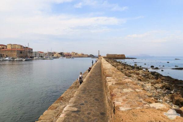 Chania venezianischer Hafen