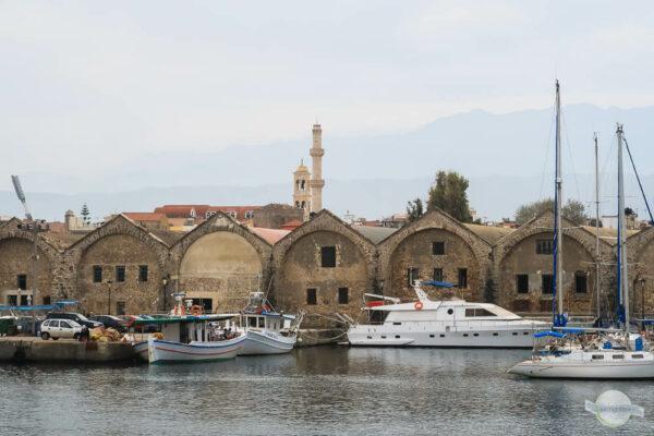Arsenale (Waffenlager) im Hafen von Chania