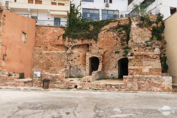 Byzantinische Ausgrabungen in Chania