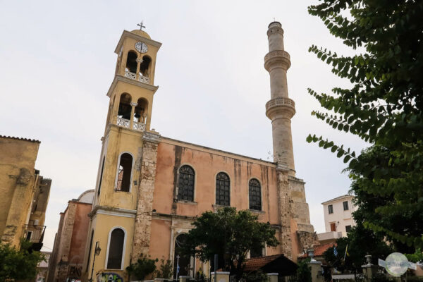 Kirche mit Minarett in Chania, Kreta
