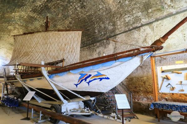 Minoisches Segelschiff in Chania, Kreta