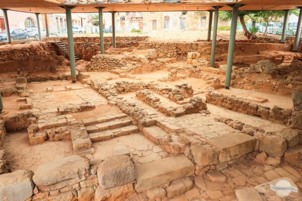 Minoische Ausgrabungen Chania