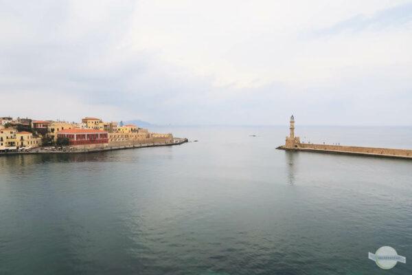Ausblick auf venezianischen Hafen