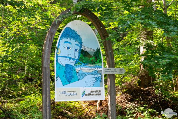 Themenwanderweg Österreich: der Wilde John