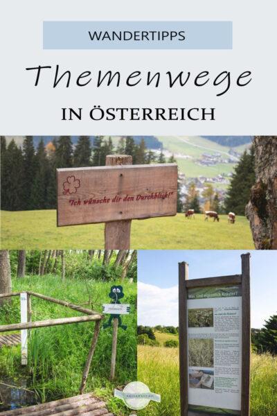 Themenwanderwege in Österreich Pin