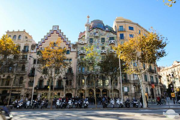 November in Barcelona