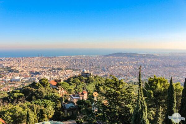 Ausblick in Barcelona