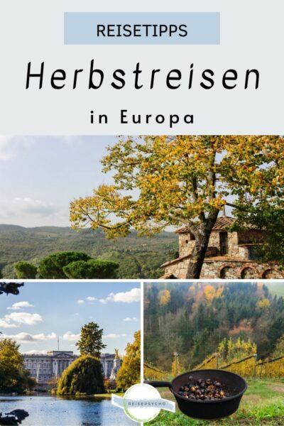 Pin Reisen im Herbst in Europa