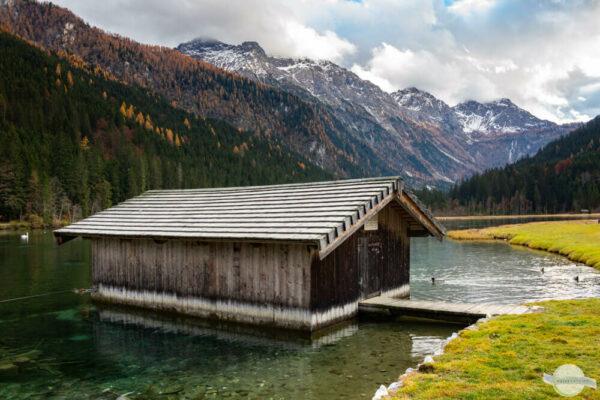 Jägersee Kleinarl im Herbst
