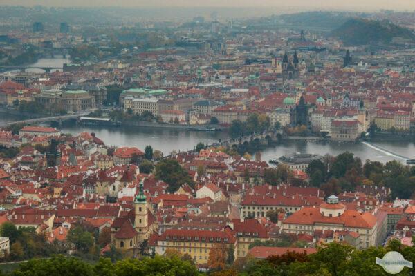 Prag Ausblick vom Petrin