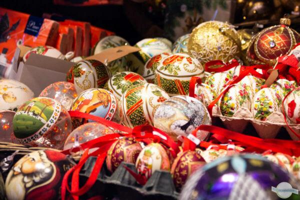 Weihnachtskugeln aus Salzburg