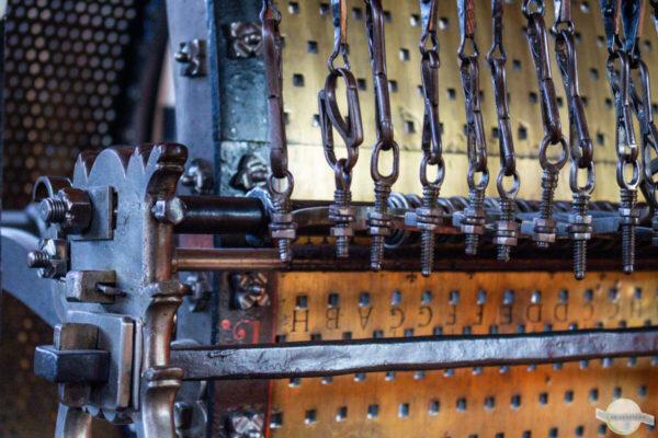 Glockenspiel Technik - Walzen und Stifte