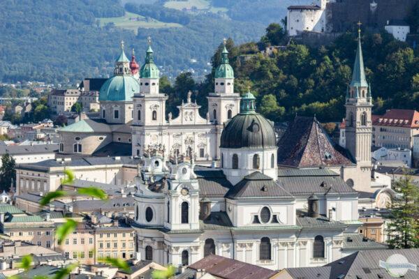 Barocke Altstadt in Salzburg