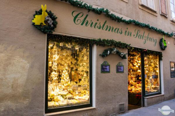 Weihnachtsshop in Salzburg