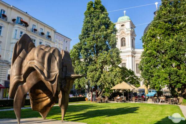 Caldeira Kunstwerk in Salzburg