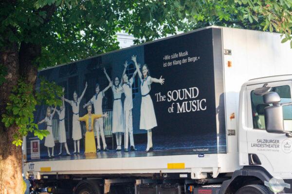 Sound of Music - das Musical LKW-Plane