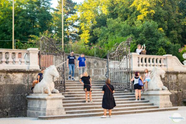 Do-Re-Mi-Treppe in Salzburg