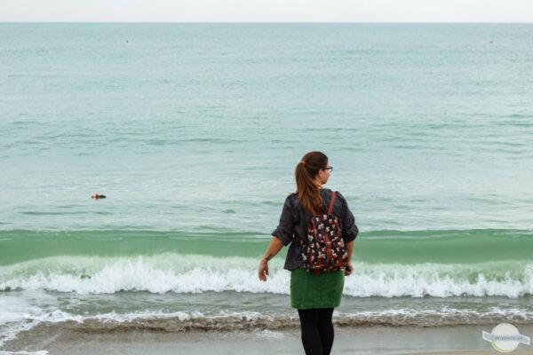 Toskana Meer im Herbst